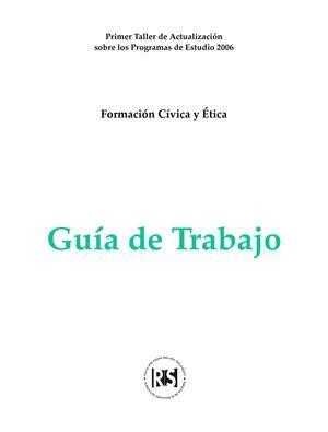 guia de evaluacion de formacion civica y etica de 5 grado calam 233 o guia de formacion civica y etica