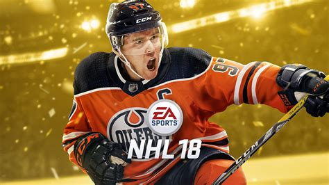 my sports were team sports hockey and baseball the oilers connor mcdavid named ea sports nhl 18 cover