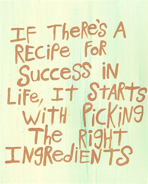recipe for success the key ingredients for living successfully books recipe for success recipe for success