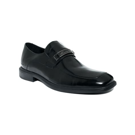 Favorite Cole Black Silver kenneth cole takin stock bit slip on with silver technology in black for lyst