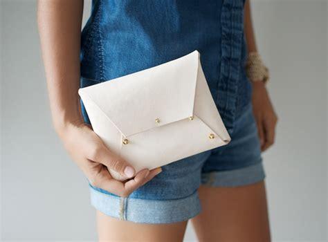 Handmade Clutch Bags Tutorial - diy decorative leather handmade