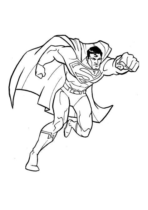 Printable Superman Coloring Pages free printable superman coloring pages for