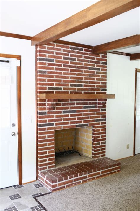 Chimney Painting Procedure - how to paint brick and a beautiful mess