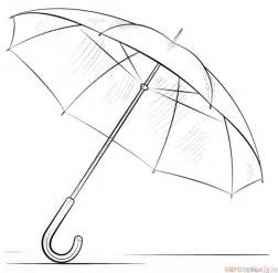 How To Draw An Umbrella  Step By Drawing Tutorials sketch template