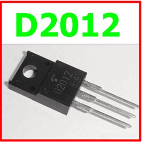 transistor d2012 datasheet d2012 datasheet vcbo 60v npn transistor toshiba