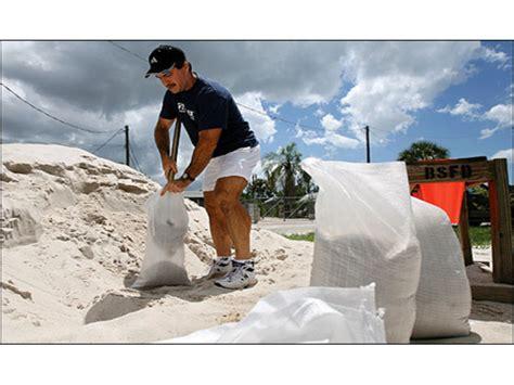 fill a sandbag volunteer work day patch