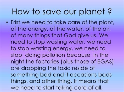 Can We Save Planet Earth Essay by How To Save Resource 2