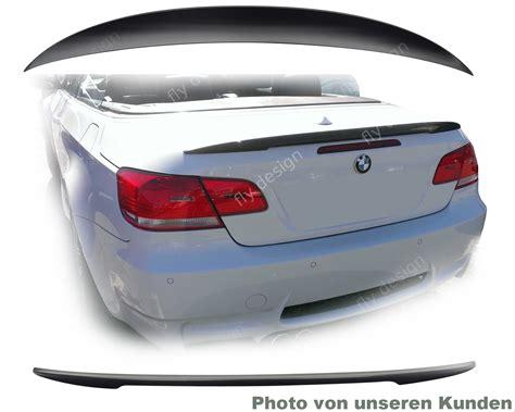 Lackieren Heckklappe Kosten by Bmw E93 Auto Teile Spoiler Heckspoiler Lackiert Schwarz