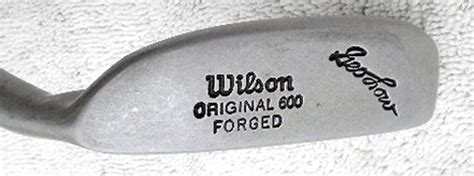 wilson original  george  putter