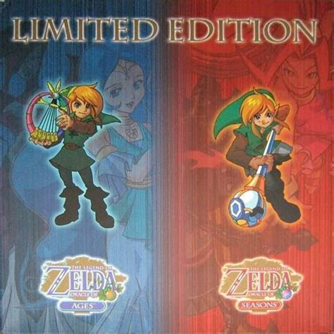 the legend of oracle of seasons oracle of ages legendary edition the legend of legendary edition legend of the oracle of seasons gameboy color