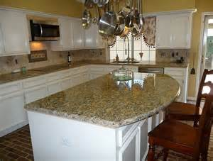 backsplash ideas for santa cecilia granite countertops home design copper color mixed kitchen tiles with