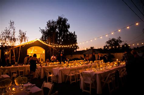 classy backyard wedding elegant backyard wedding best wedding blog