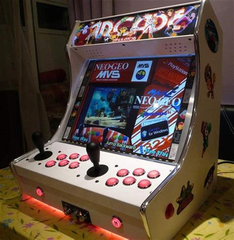 Bar Top Arcade by Bartop Arcades For Sale From Tinyarcademachines