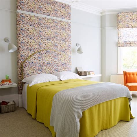 Yellow Bedroom Throw Contemporary Bedroom With Bright Yellow Throw