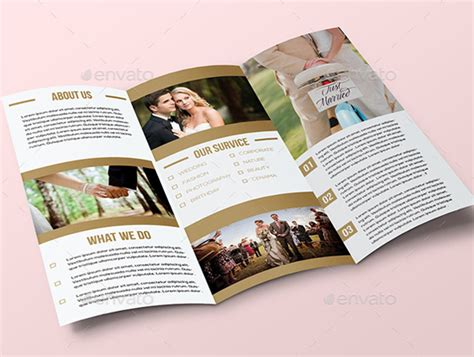 Wedding Brochure Layout by 10 Sch 246 Ne Hochzeitsbrosch 252 Re Vorlagen Psd Eps Ai