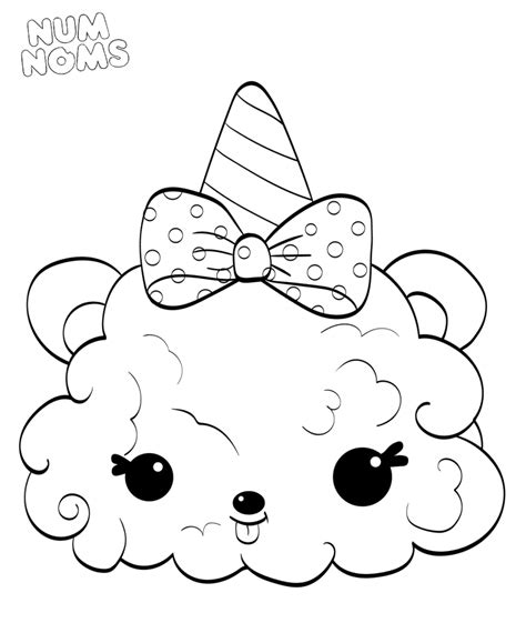 Coloring Page Num Noms by Num Nom Free Coloring Pages