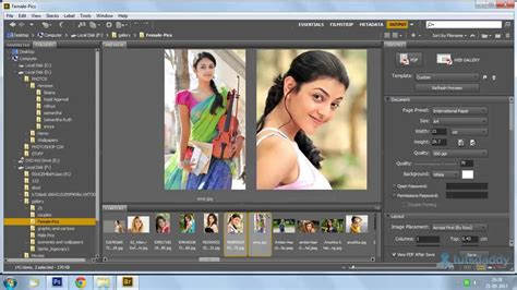 tutorial photoshop cs6 pdf photoshop tutorial creating a pdf in photoshop cs6 youtube