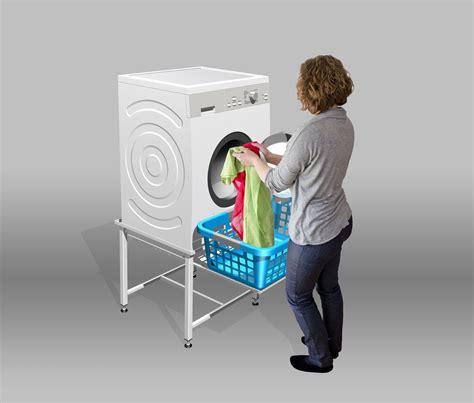 Gestell Um Trockner Auf Waschmaschine Zu Stellen by Waschmaschinensockel Trocknersockel 50cm Hoch Verst 228 Rkt