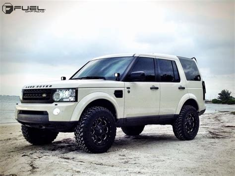 lifted land rover 2016 2010 land rover lr4 187 brand fuel one pieceoffset wheel