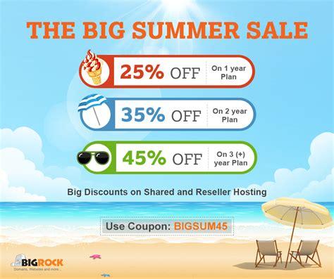 big summer sale save      bigrock hosting