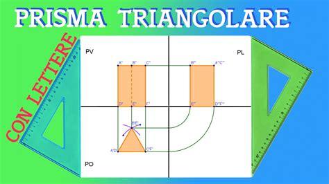 proiezione ortogonale di una sedia proiezione ortogonale di un prisma a base triangolare