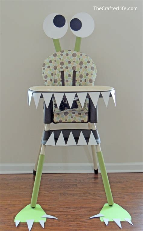 High Chair Decorations On High by Diy High Chair