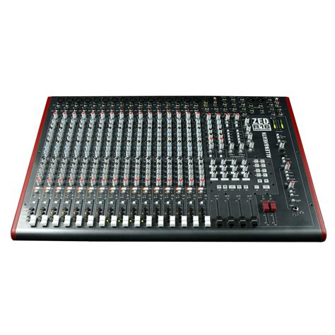 Mixer Allen Heath Zed allen and heath zed r16 16 channel firewire recording