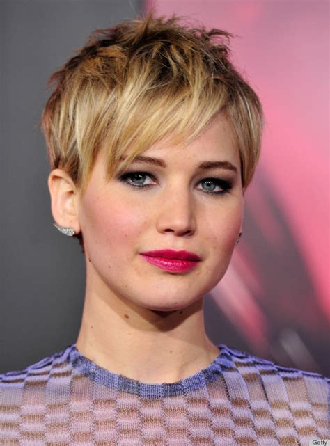 jennifer lawrence hair colors for two toned pixie 5 makeup and hair looks to copy in 2014 and 5 to