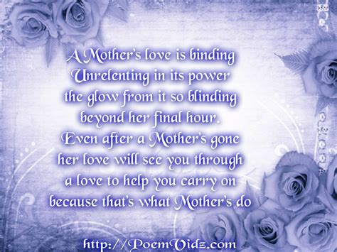 Deceased Birthday Quotes Deceased Mother Poems Deceased Mother Poems Http Www