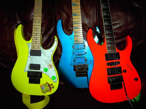 Colored Guitar by Show Me Your Loud Neon Colored Guitars Page 2 Jemsite