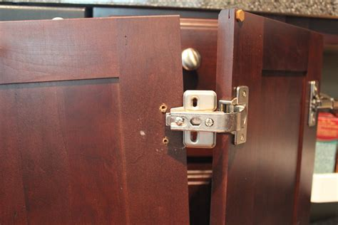 how to repair kitchen cabinet hinges our home from scratch