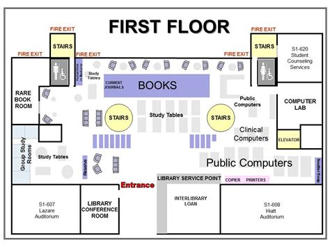 school library floor plans library floor plan medical student resources and house pages research guides at university