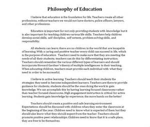 My Philosophy Of Education Essay by Paper On Philosophy Of Education Writefiction581 Web Fc2