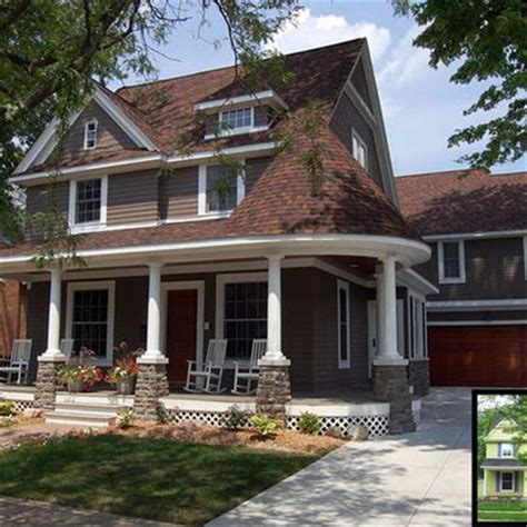 exterior paint colors for a brown roof search house remodeling home