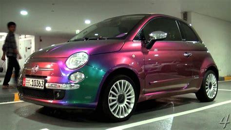 fiat 500 colors flip colour fiat 500