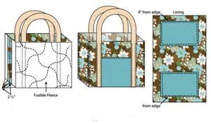 free tote bag pattern my handmade space