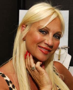 Linda Hogan Wearing Ziamond Cubic Zirconia CZ Cognac Stud Earrings