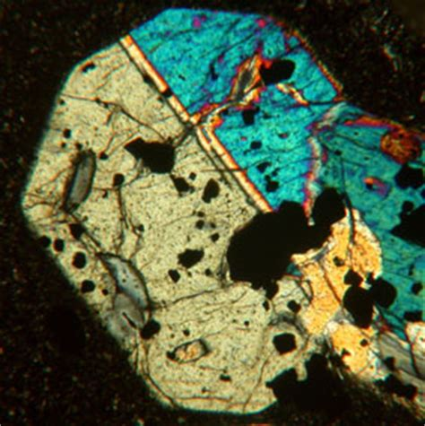 Pyroxene Thin Section by Clinopyroxene