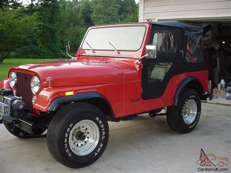 1982 Jeep Cj5 1982 Jeep Cj5 Restored Front To Rear Eng And Trans