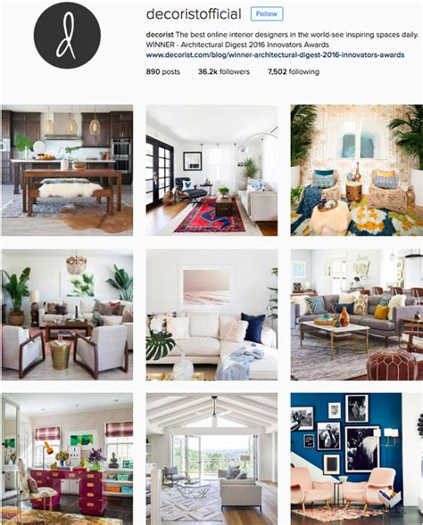 best home design instagram accounts the best interior design accounts to follow on instagram