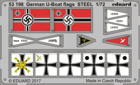 u boat flags german u boat flags steel 1 72 eduard store