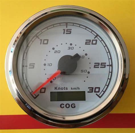 boat gps brands 1pc 100 brand new gps speed chart 30knots speedometers
