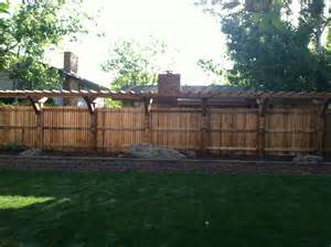 Fence Pergola by Fence Pergola Home Improvement Exterior Designs