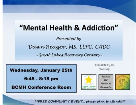 Mental Health Detox Pay by Community News Events Up Net