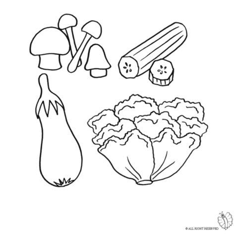 disegni alimenti per bambini disegno di ortaggi e verdure da colorare per bambini