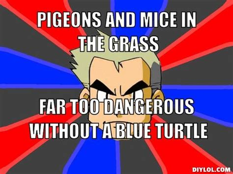 Professor Oak Meme - image professor oak meme generator pigeons and mice in