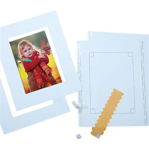 10 X 10 Pre Cut Mat by Lineco Pre Cut 8 X 10 Quot 2 Mat Kit With 4 X 700 8146
