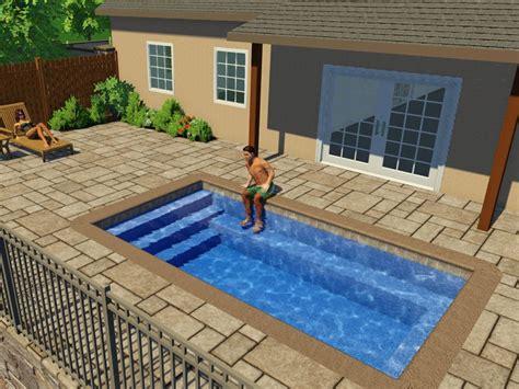 fiberglass pools designs  shapes swimming pool
