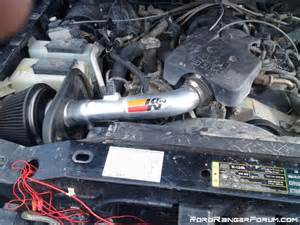 Ford Ranger Cold Air Intake For Sale K N Cold Air Intake With Maf Ford Ranger Forum