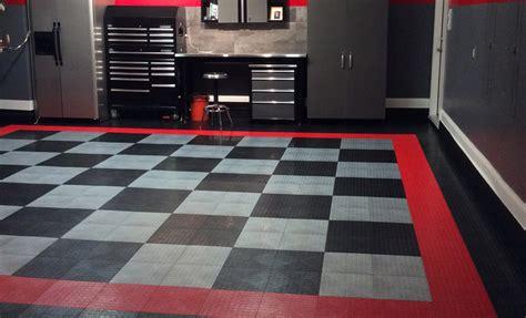 coin grid loc tiles designer plastic garage floor tile